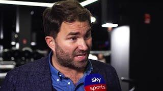Eddie Hearn says the fight between Joshua & Wilder is edging closer & talks Whyte/Usyk/Katie Taylor