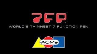 Acme Studio: 7fp / 4fp ( Multi-function Pen Tutorial)