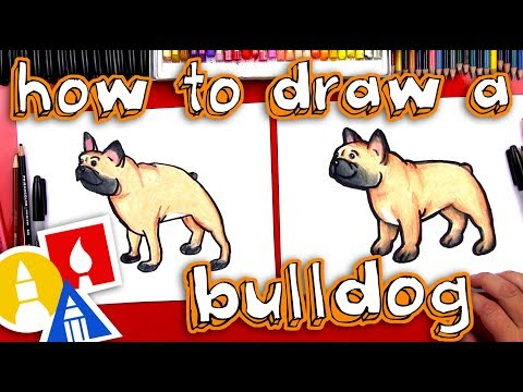 How To Draw A Bulldog - Plus New Ebook!