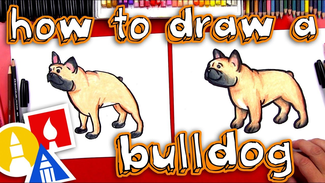 How To Draw A Bulldog Plus New Ebook