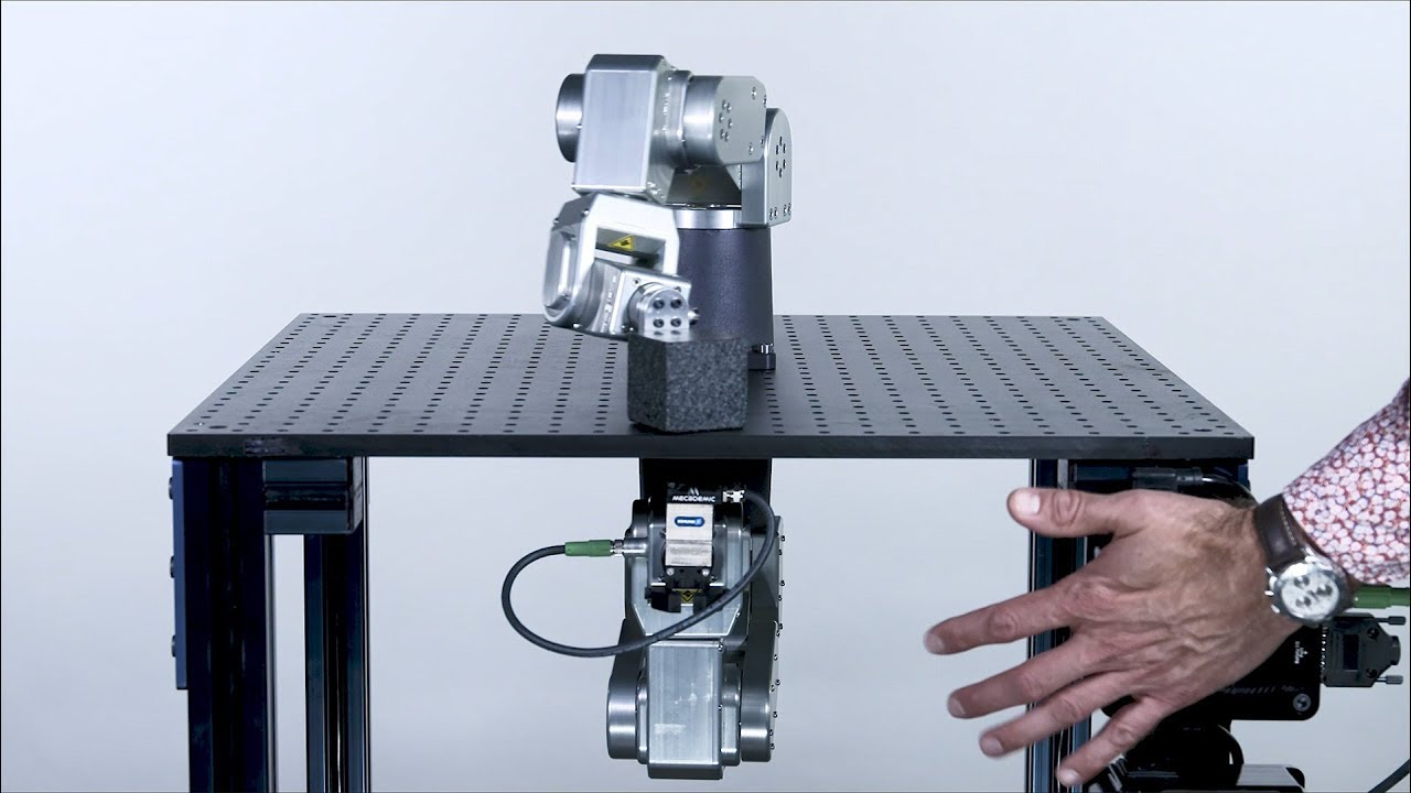 Meca500, the world's smallest six-axis industrial robot arm