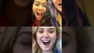 Allegra Acosta Live (w/Ariela Barer & Ginny Gardner) Aug 30th 2019