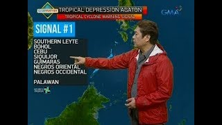 UB: Weather update as of 5:49 a.m. (January 2, 2018)