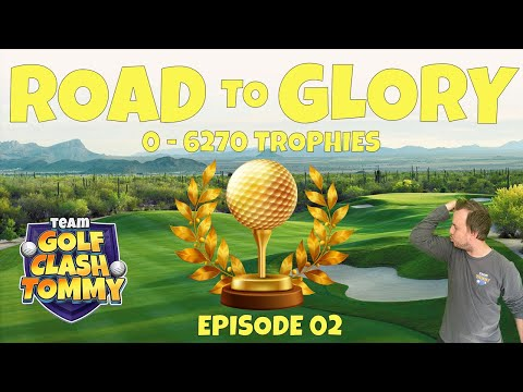 Golf Clash LIVESTREAM, ROAD to GLORY 2.0 - Episode 2!