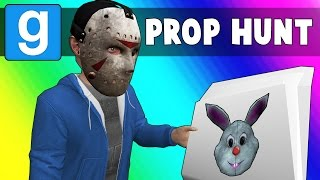 Gmod Prop Hunt Funny Moments - Murdering News Paper! (Garry's Mod)