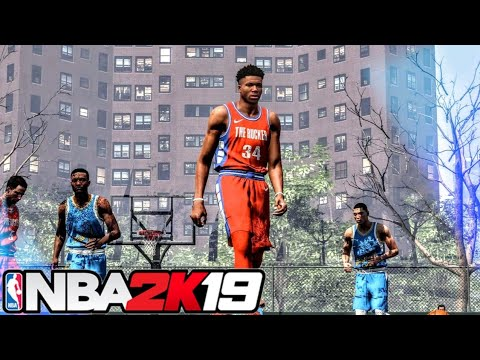 NBA 2K19 RUCKER PARK OUTDOOR COURT MOD w/ GRAPHICS MOD! For PS4 & XBOX ONE!
