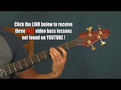 beginner bass guitar lesson weezer island in the sun