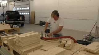 Building A Mobile Woodshop (part 27) Easy Fast Milling Of Drawer Parts.