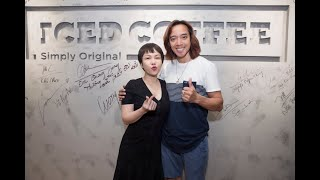 Việt Hương chúc Kiến Huy mở thêm 10000 tiệm coffee