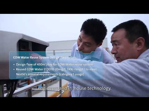 Waste Water Treatment Solutions - Nestlé Qingdao, China