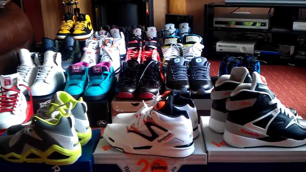 Reebok Classic Nylon Team Navy / Platinum - Sneaker Pickup - YouTube