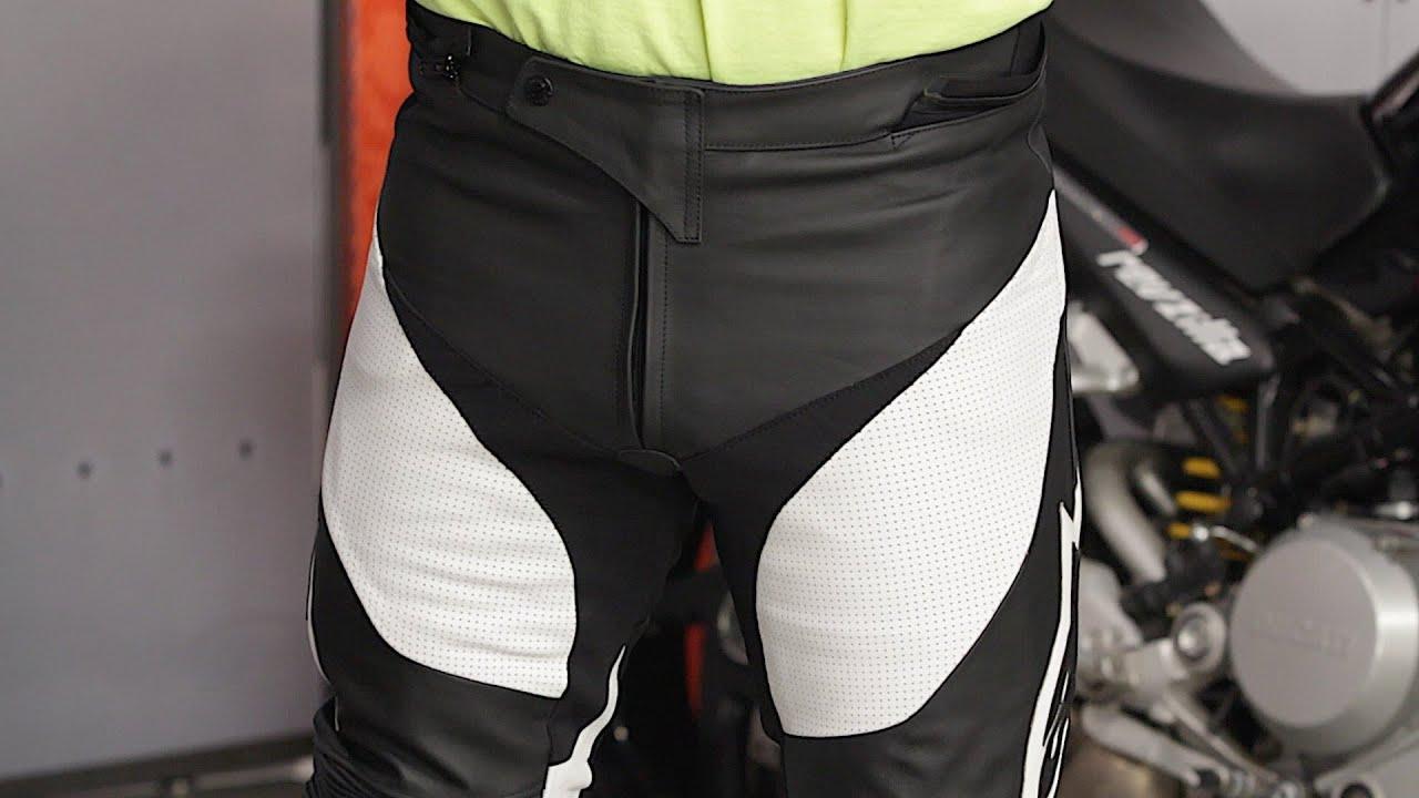 Alpinestars Jacket Leather >> Alpinestars Track Leather Pants Review at RevZilla.com ...