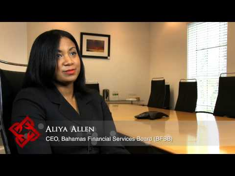 BFSB CEO Aliya Allen on the Bahamas as an international financial services centre