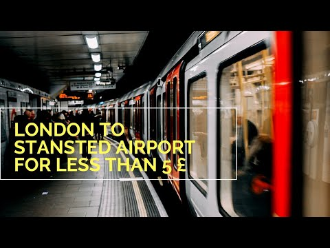 London To Stansted Airport - The Cheap Way