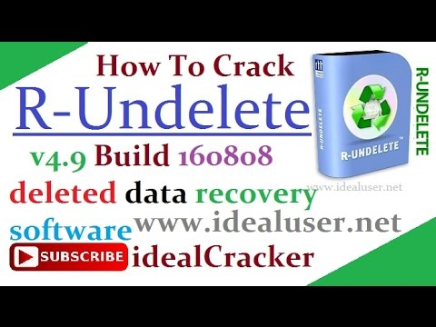 R-Undelete V4.9 Build 160808 deleted Data Recovery Software
