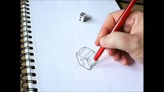 How To Draw A Flaming Dice