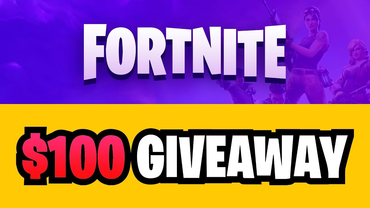 Fortnite - $100 GIVEAWAY - FeaturePoints 2018-03-10 04:08