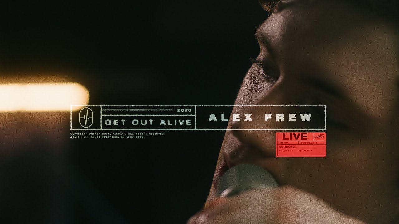 Alex Frew - Get Out Alive [Live]