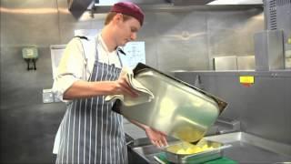 Christmas Roast Potatoes: Royal Navy Style