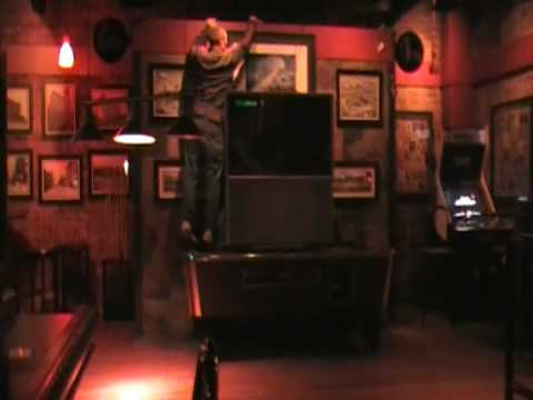 101 saloon - 01/31/09 - nice television stand!