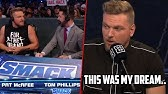 Pat McAfee Talks Smackdown Experience