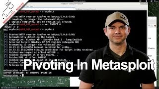 Pivoting In Metasploit - Metasploit Minute