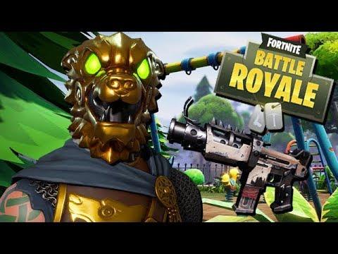 Gold Löwe Skin kommt - Fortnite Battle Royale Gameplay German