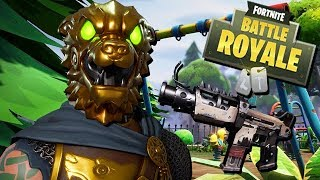 Gold Lion Skin Is Coming - Fortnite Battle Royale Gameplay Anglais