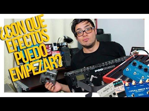 ¿Que Efectos y Pedales de Guitarra Puedo Empezar   Sebastian Mora