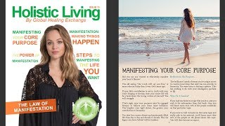 Manifestation & The Law of Attraction - Holistic Living Mag 15