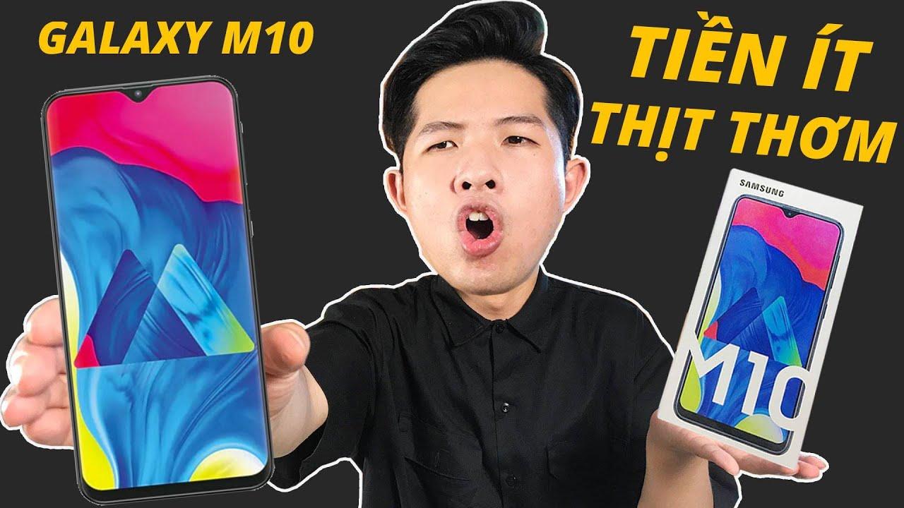 TRÊN TAY GALAXY M10: SMARTPHONE GALAXY SIÊU RẺ!!!
