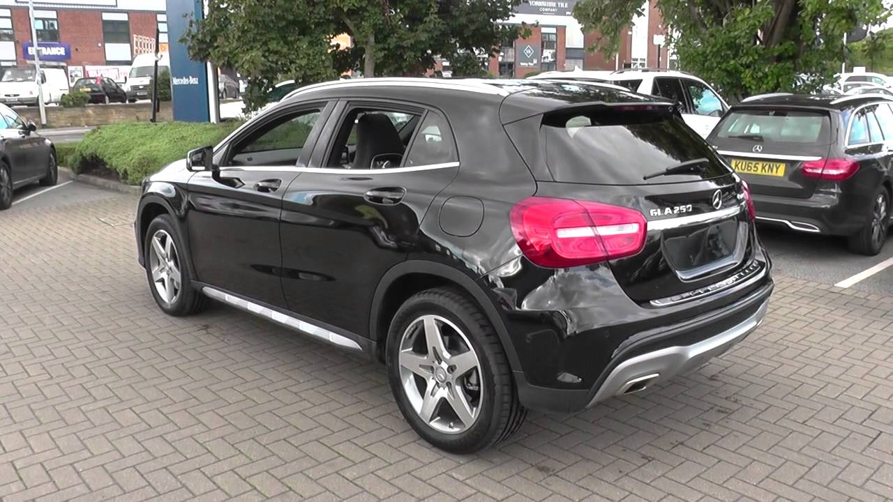 mercedes benz gla class gla 250 4matic amg line 5dr auto premium plus u23921 youtube. Black Bedroom Furniture Sets. Home Design Ideas