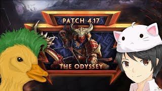 SMITE - 4.17 Patch Discussion (w/ MythyMoo & Punk Duck)