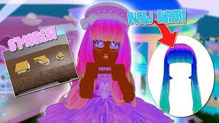 NEW SUMMER REALM FOOTAGE! S'MORES ! NEW HAIR, CLOTHES, & MAKEUP! | ROBLOX ROYALE HIGH LEAKAGE