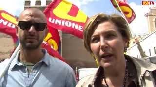 Roma, 28 maggio 2014. Trasporti, presidio al Ministero (USB Tv)
