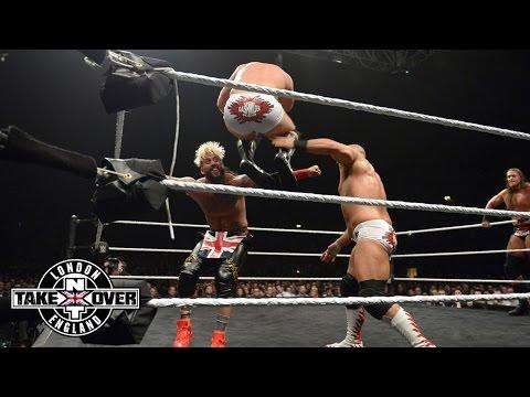 WWE Network: Enzo Amore & Colin Cassady vs. Dash & Dawson - NXT Tag Team Title: NXT Takeover: London