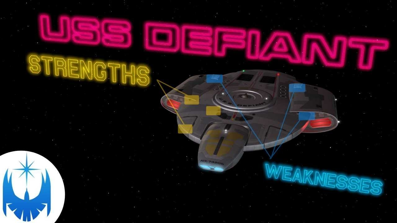 Is The USS Defiant Overrated?? Analysis of Starfleet's Warship!!