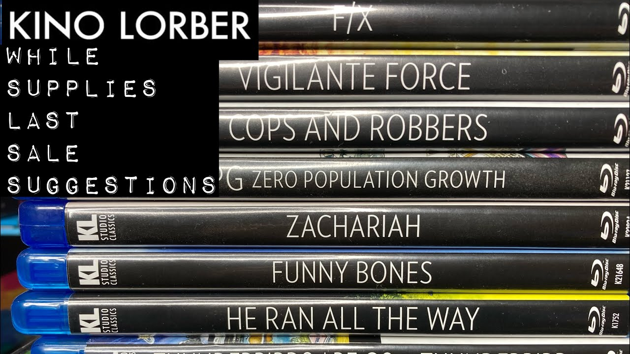 """Download Kino Lorber """"While Supplies Last"""" Sale Suggestions!"""