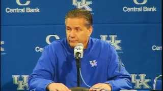Kentucky Wildcats TV: Coach Cal Postgame Press Conference