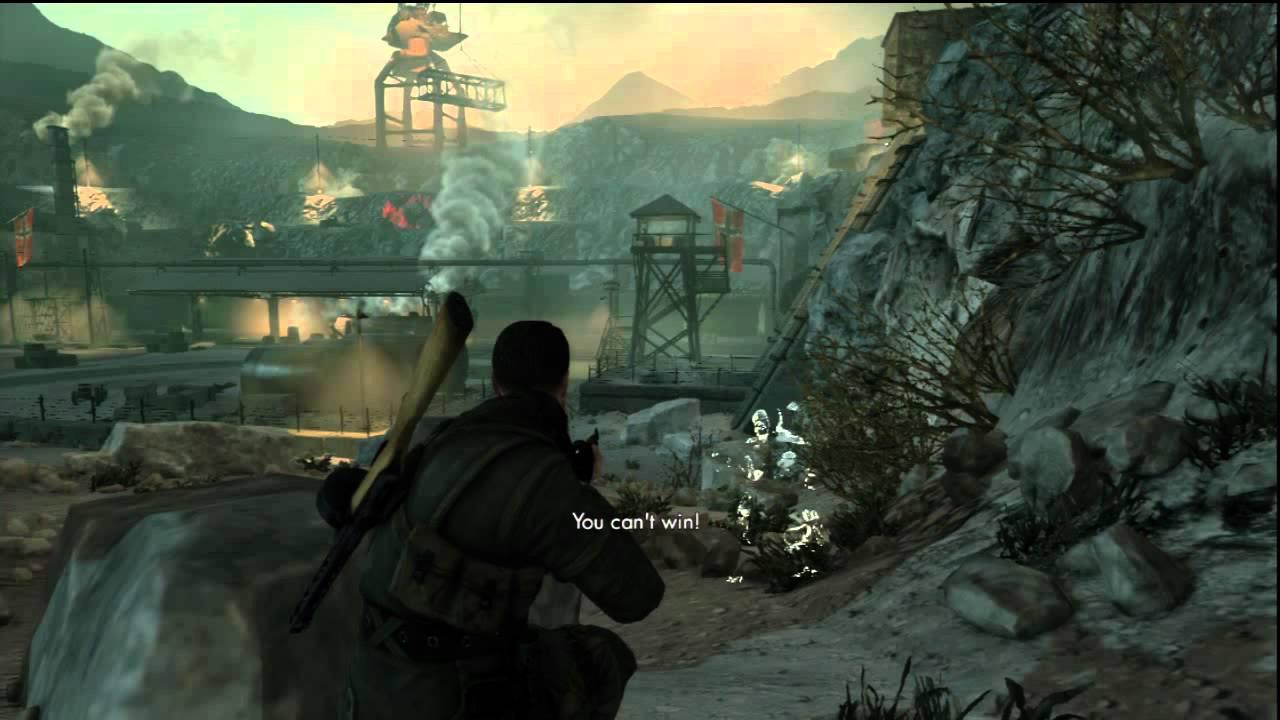 Sniper Elite V2 Playstation 3 Gameplay Youtube
