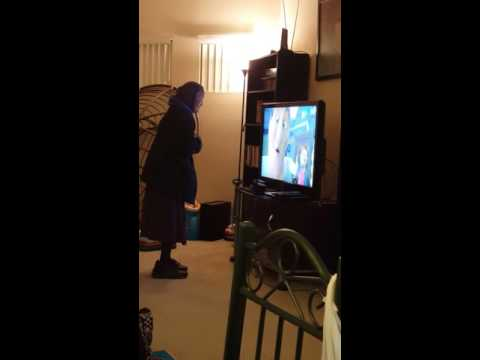 Grandma watching Navajo Nemo