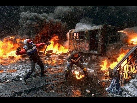 Insurrection à Kiev En Ukraine
