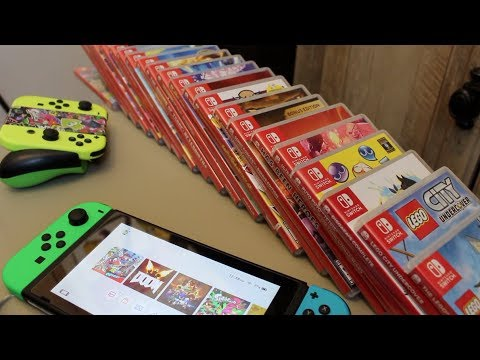 The Ultimate Nintendo Switch Game Collection Youtube