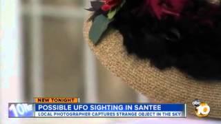 Foto de Ovni en Santee, California 22 de Mayo 2013