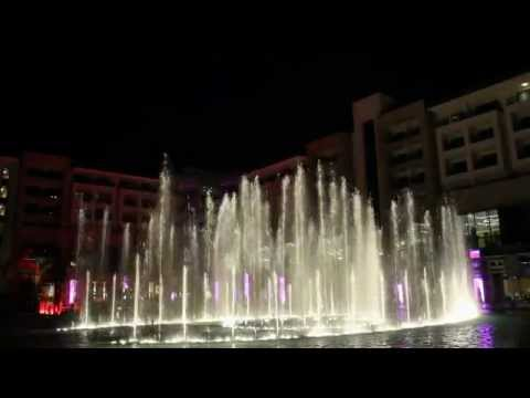 Fountain Show - Regnum Carya Golf & Spa Resort -Antalya Belek