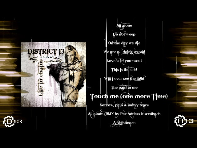 DISTRICT 13 - Life in chains - ALBUM TEASER