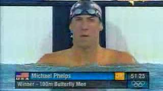 michael phelps 100 fly