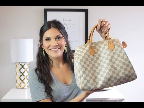 Whats In My Bag  Louis Vuitton Speedy  Jenna Berman