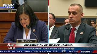 President Trump Impeachment Hearing - Corey Lewandowski - PART 2