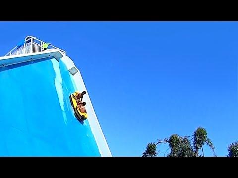 Aquasplash 2018 - Toboggan Parc Aquatique Antibes - Sony Action Cam